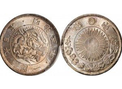 明治の1円銀貨