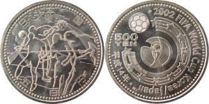 ワールドカップ500円硬貨