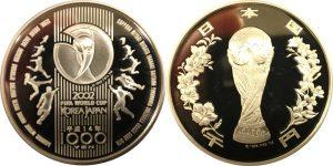 ワールドカップ1000円銀貨
