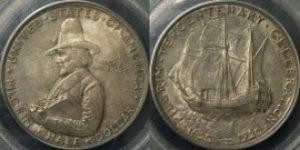 米国の銀貨