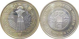 山形県500円硬貨