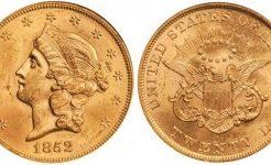 アメリカの20ドル金貨