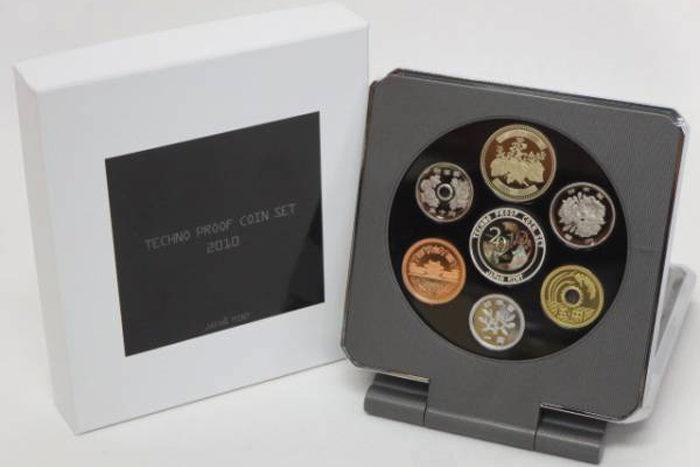 テクノプルーフ貨幣セット2010