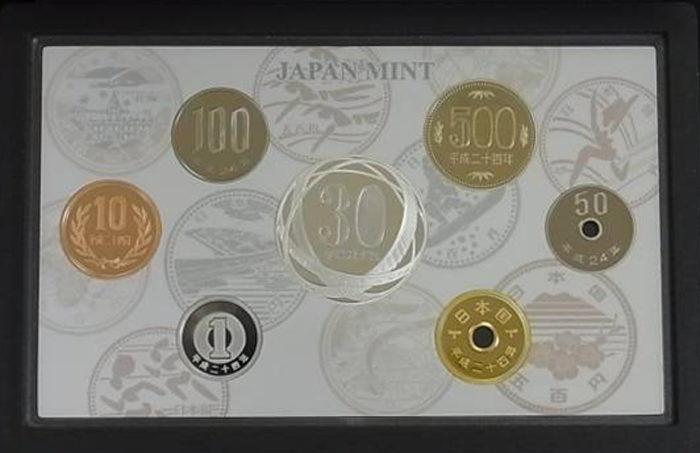5百円貨幣誕生30周年2012プルーフ貨幣セット