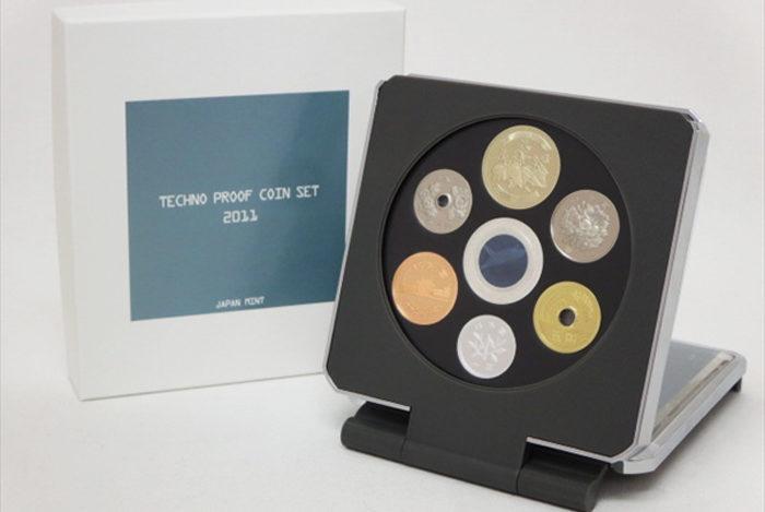 テクノプルーフ貨幣セット2012