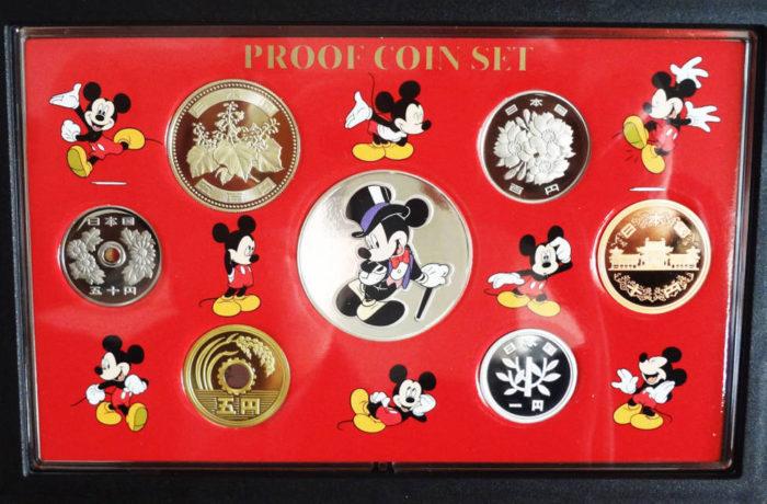 ミッキーマウス貨幣セット
