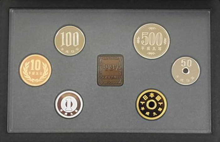 東京湾アクアライン開通記念プルーフ貨幣セット