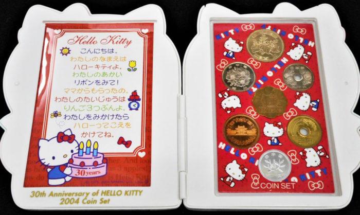 ハローキティ誕生30周年2004ミント貨幣セット