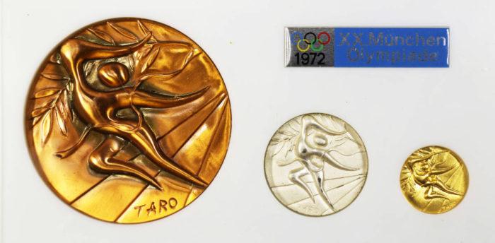 オリンピックミュンヘン大会公式参加メダル