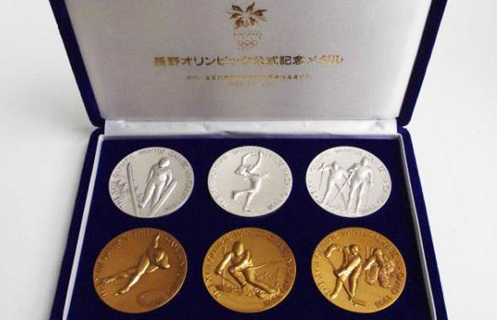 長野オリンピックメダルセット