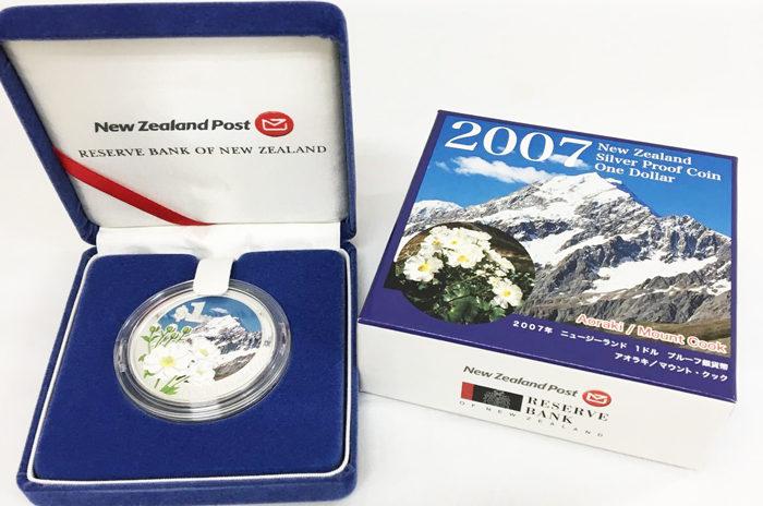 ニュージーランド1ドル銀貨