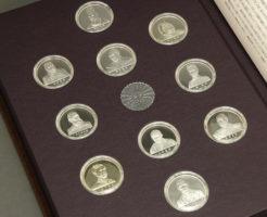 明治維新の英傑コレクション純銀メダル