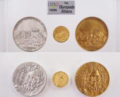 オリンピック優勝メダル第1回アテネ大会