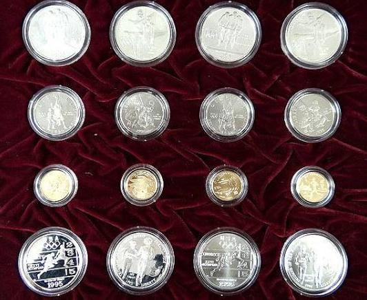 アトランタオリンピック100周年記念メダル