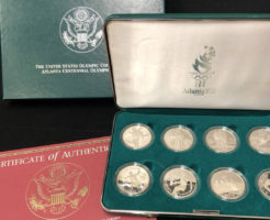 1996年1ドル銀貨8枚セット