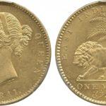 インドモハール金貨