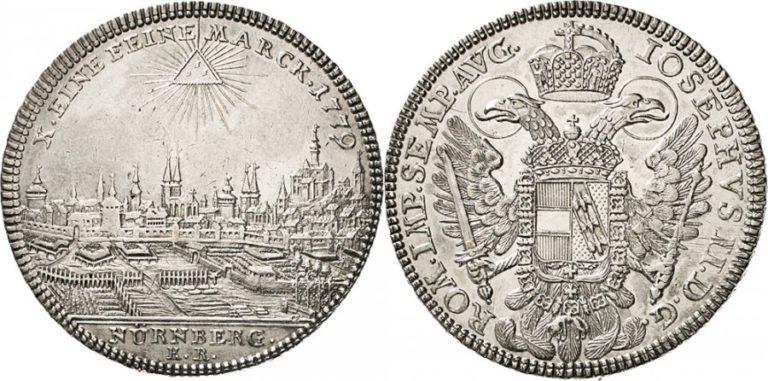 ヨーゼフ2世銀貨
