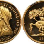 1893年5ポンド金貨