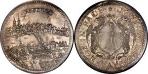 17世紀都市景観銀貨