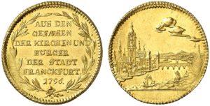 フランクフルト都市景観金貨
