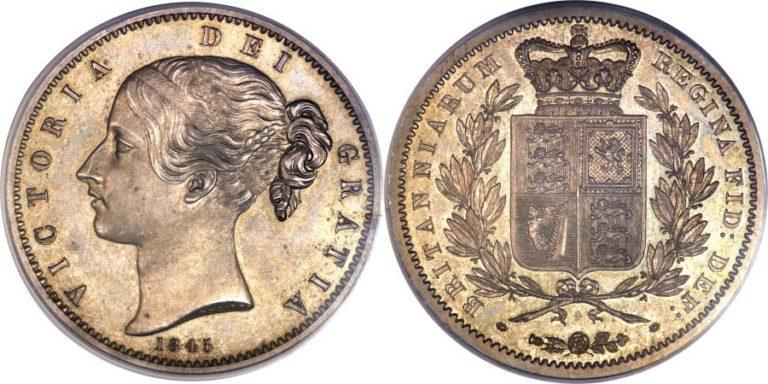ビクトリアのヤングヘッド クラウン銀貨の価値