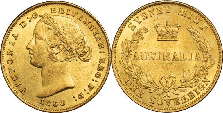 オーストラリア シドニーのヴィクトリア ソブリン金貨の価値と買取相場