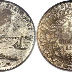 フランクフルト都市景観銀貨
