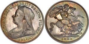 オールドヘッドクラウン銀貨