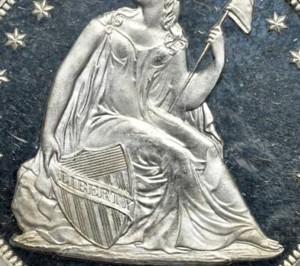 米国プルーフ銀貨