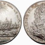 1736年都市景観銀貨