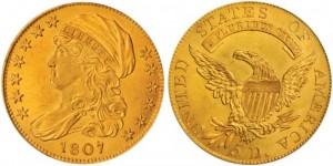 ターバンヘッド5ドル金貨