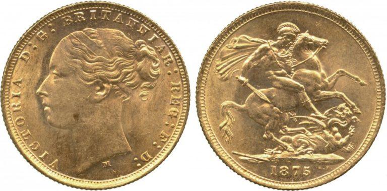 オーストリアのヴィクトリア ソブリン金貨の価値