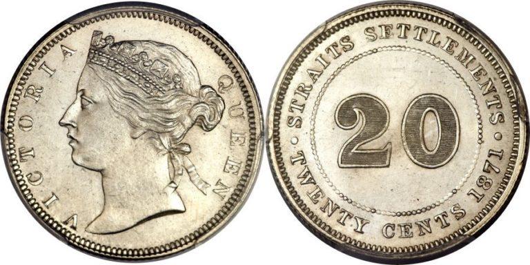 海峡植民地のビクトリアコインの価値