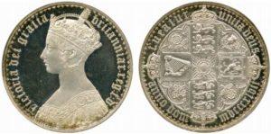 ゴチッククラウン銀貨