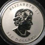 エリザベス プラチナ貨