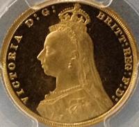 ビクトリアプルーフ金貨