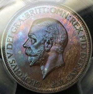 英国青銅貨