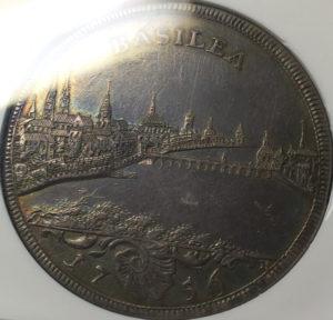 都市景観銀貨
