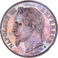 ナポレオン2フラン銀貨