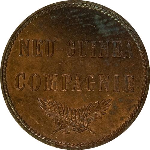 ドイツ領ニューギニア2ペニヒ貨の価値