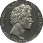 ドイツ バイエルン ルートヴィヒ1世銀貨