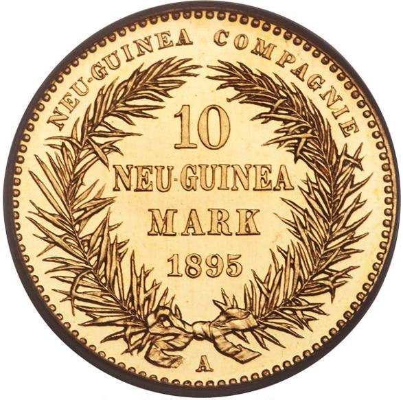 1895年極楽鳥10マルク金貨の価値と買取相場