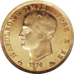 イタリア ナポレオン王国の40リレ金貨