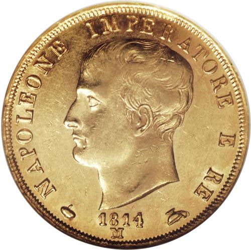 イタリア ナポレオン40リレ金貨の価値と買取相場