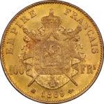 1876年ローザンヌ射撃祭5フラン銀貨
