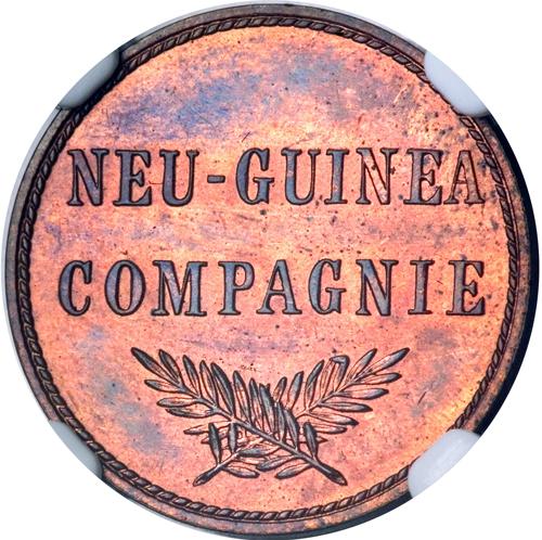 ドイツ領ニューギニア1ペニヒ貨の価値