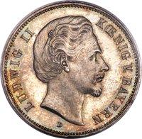 ルートヴィヒ2世5マルク銀貨