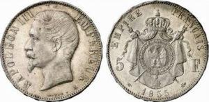 ナポレオン銀貨