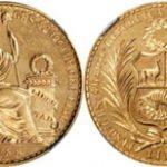 ペルー100ソル金貨