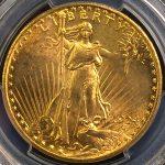 米国 アメリカ 20ドル金貨 ダブルイーグル 1924年 PCGS MS63